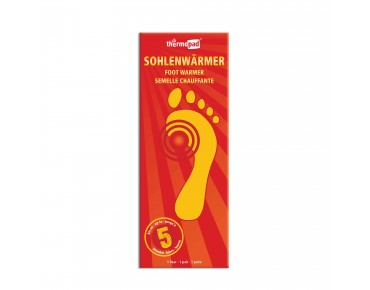 thermopad sole warmers - pack of 5 pairs white