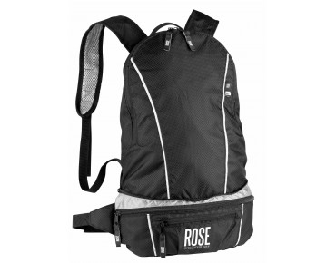 ROSE Daypack black/silver