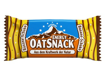 EnergyOatSnack bar banana chocolate