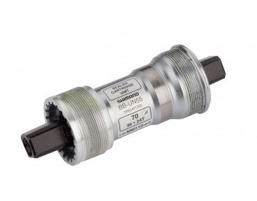 SHIMANO BB-UN55  bottom bracket silver