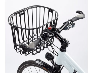 Rixen & Kaul KLICKfix ALUMINO front bicycle basket black