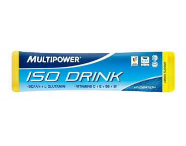 Multipower Iso Drink drink powder lemon