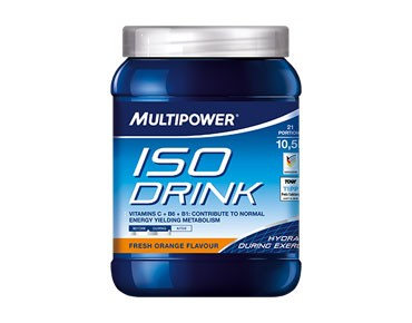 Multipower Iso Drink drink powder Fresh Orange