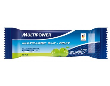 Multipower Riegel Multicarbo Bar + Fruit apple