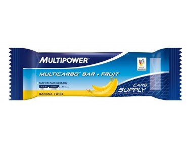 Multipower Multicarbo Bar + Fruit banana twist