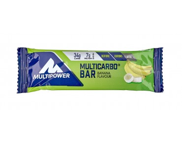 Multipower Riegel Multicarbo Bar + Fruit Banana Twist