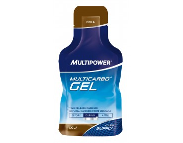 Multipower Multicarbo gel cola + guarana
