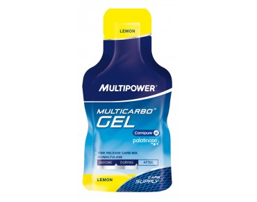 Multipower Multicarbo Gel Lemon+Palatinose+L-Carnitin