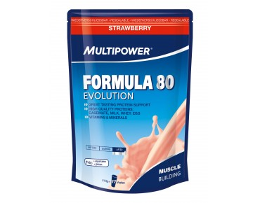 Multipower Formula 80 Evolution Getränkepulver Strawberry
