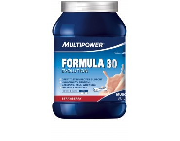 Multipower FORMULA 80 EVOLUTION drink powder strawberry