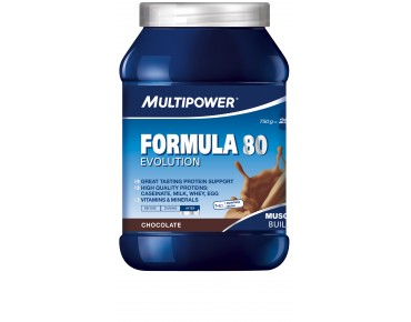 Multipower Formula 80 Evolution Getränkepulver Chocolate