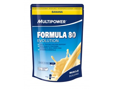 Multipower Formula 80 Evolution Getränkepulver Banana