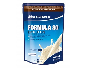 Multipower Formula 80 Evolution Getränkepulver Cookies & Cream
