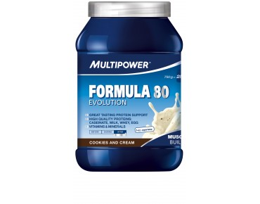 Multipower FORMULA 80 EVOLUTION drink powder Cookies & Cream