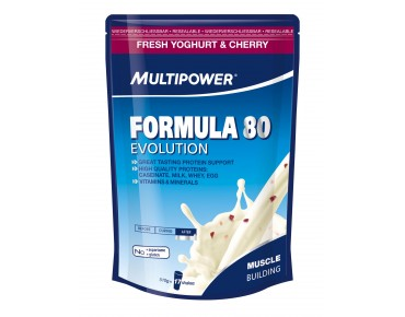 Multipower FORMULA 80 EVOLUTION drink powder Fresh Yoghurt & Cherry