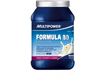 Multipower Formula 80 Evolution Getränkepulver Fresh Yoghurt & Cherry