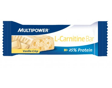 Multipower Riegel L-Carnitine Bar Vanilla-Crisp