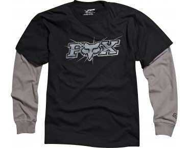FOX Langarmshirt TEMPERED 2FER black