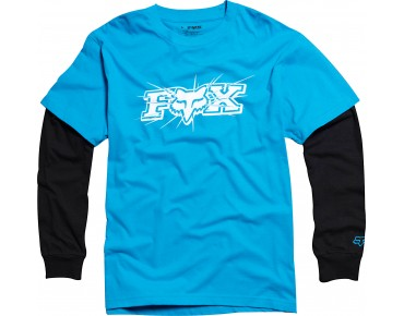 FOX Langarmshirt TEMPERED 2FER electric blue