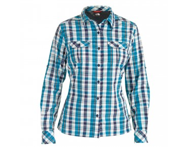 THE NORTH FACE Damen Bluse langarm KASSIE deep water blue