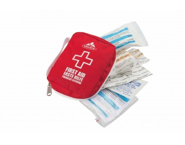 VAUDE FIRST AID KIT BIKE ESSENTIAL red