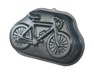 keine Marke Baking tin bike large