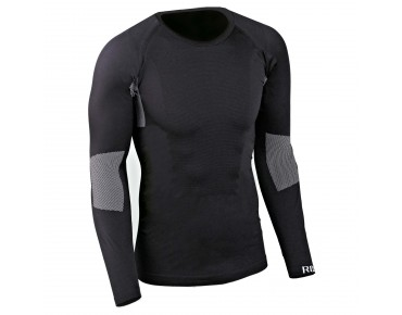 ROSE long-sleeve undershirt SEAMLESS WARM black
