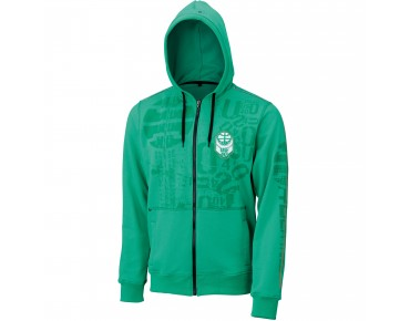 US40 Hooded sweat jacket GALILEO green