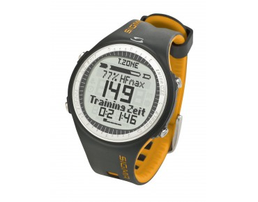 Sigma PC 25.10 heart rate watch yellow