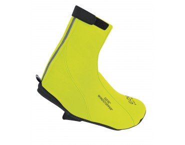 GORE BIKE WEAR ROAD WINDSTOPPER SOFT SHELL Überschuhe neon yellow