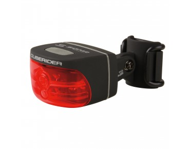 Sigma Cuberider Black diode rear light black