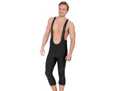 Löffler BASIC ¾-length bib tights black