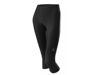 Löffler BASIC ¾-length cycling tights for women black