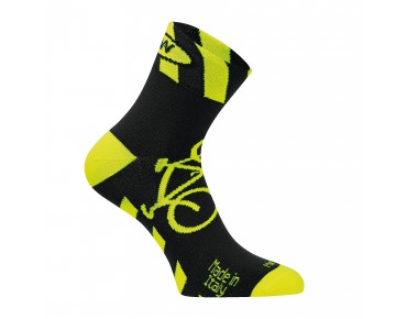 NORTHWAVE BIKEMAN2 Socken black/yellow