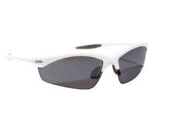 ALPINA TRI EFFECT sports glasses white/black mirror