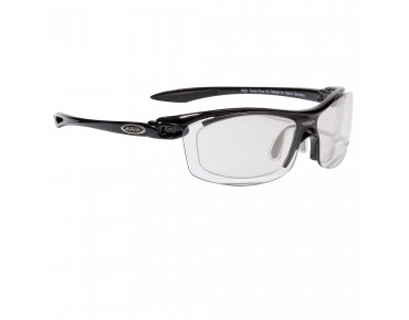 ALPINA TWIST FOUR VL+ Sportbrille inkl. Optikadapter shiny black/varioflex+ black