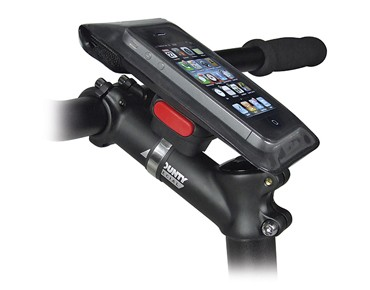 KLICKfix PHONEBAG mount black
