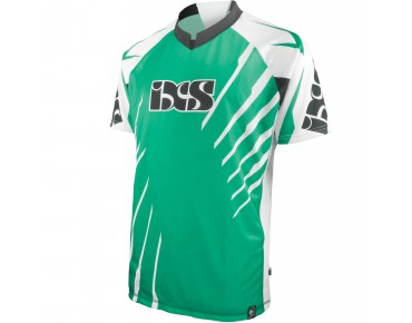 IXS Bike shirt SHATTER white/green