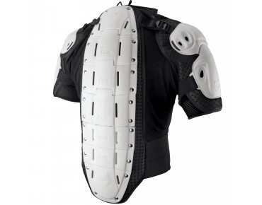 IXS HAMMER protector jacket white
