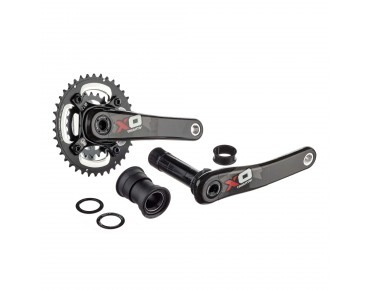 SRAM X.O PF30 2.2 38/24 MY2013 crankset red