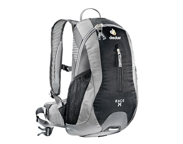 deuter backpack RACE X black-silver