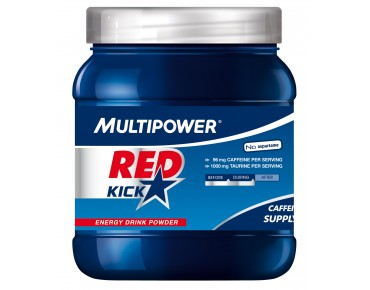 Multipower RED KICK drink powder Multi-Fruit+Koffein+Guarana