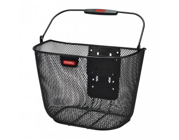 Rixen & Kaul UNIKORB PLUS front bicycle basket black