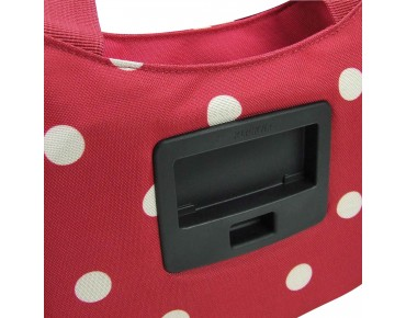 Reisenthel STYLEBAG handlebar bag incl. KLICKfix adapter ruby dots