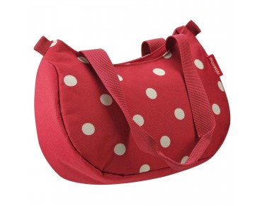 Reisenthel STYLEBAG - borsa manubrio incl. supporto KLICKfix ruby dots