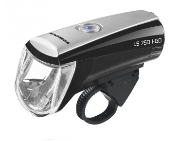 Trelock LS 750 I-GO battery headlight black