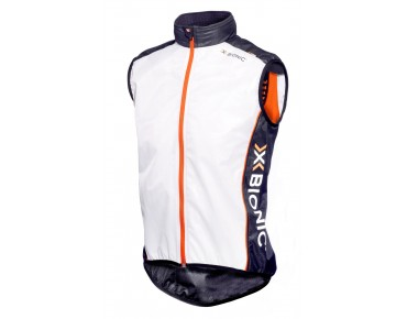 X BIONIC Weste SPHEREWIND white/black/orange