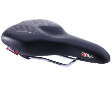 SQlab 602 active - Trekking saddle schwarz