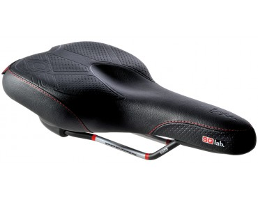 SQlab 602 active - Trekking saddle black
