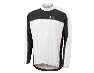 ROSE DESIGN III Langarmtrikot black/white